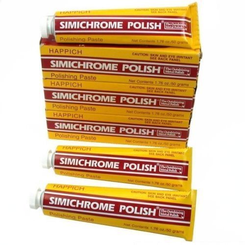 Simichrome Polish Pack Of Three 390050 Orange Cycle Parts