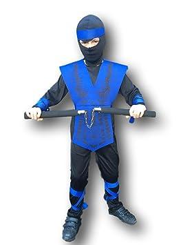 Disfraz de Sub Zero de Mortal Kombat para niños ...