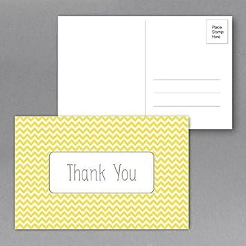 S Superfine Printing 25 Merci Cartes De Voeux Visite Taille 4quot