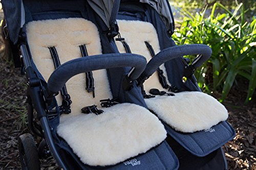Kinderwagen Einlage aus echtem Lammfell Yukon International