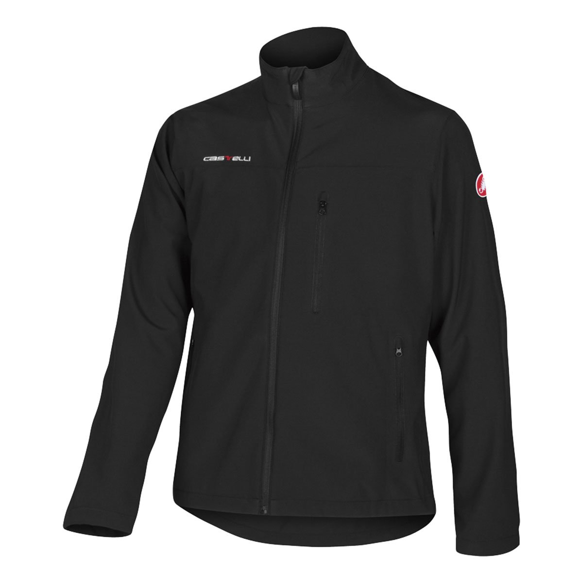 Amazon.com   Castelli 2014 Men s Race Day Casual Jacket - X13090 (Black -  XL)   Athletic Warm Up And Track Jackets   Sports   Outdoors 8819499bc
