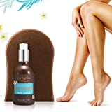 Self Tanner & Tanning Application Mitt, Y.F.M Sunless Bronzing Cream by Fake Bake with Applicator Mitt, | Instant, Quick-Drying, Streak-Free, Perfect For Fair To Medium Skin Tones