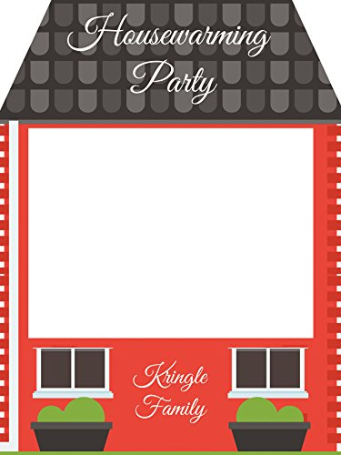 Custom House Warming Realtor Home Showing Photo Booth Prop - Sizes 36x24, 48x36; Personalized Home Warming Photo Booth Frame; Handmade Realtor Estate Decor