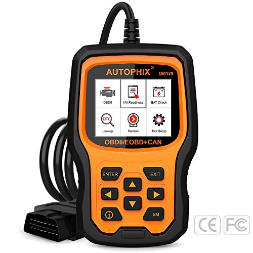 OBD2 Scanner, AUTOPHIX Car Diagnostic Scanner OM129 Auto Vehicle Code Reader Automotive OBDII Check...