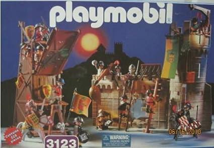 Amazon.com: Playmobil 3123 Castillo Assault Grand Play Set ...