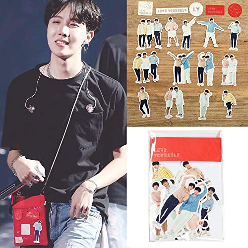 2019 SGDOLL Kpop Bangtan Boys BTS Jungkook V JIN RM SUGA Facial Expression Decal Stickers Scrapbook 18Pcs/Set New Classic Toys
