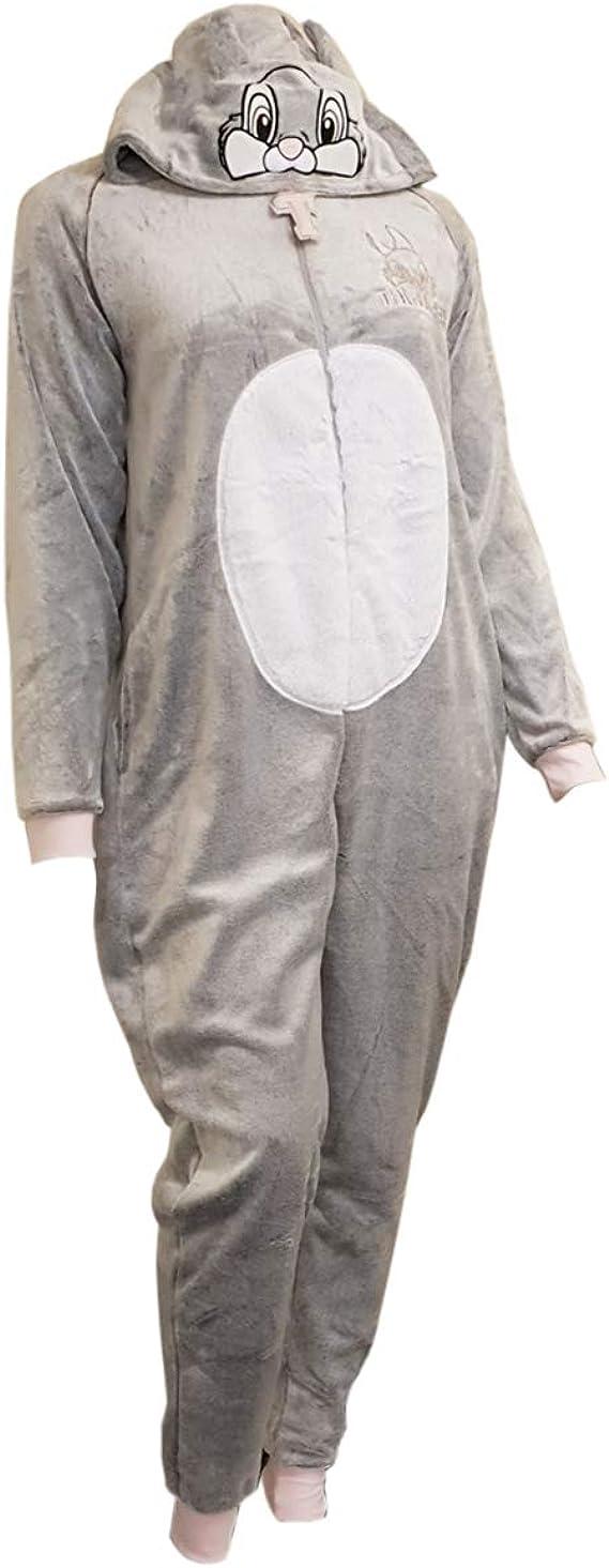 Llicensed-Primark - Pijama de una Pieza - para Mujer Gris Gris ...