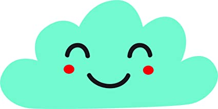 Amazoncom Cute Adorable Kawaii Expression Emotion Cloud Emoji