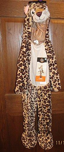 Foxy Leopard (Hyde & Eek Toddler Leopard jumpsuit costume 2-3T)