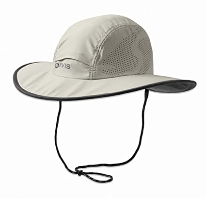 c16eb140a Amazon.com : Orvis Wide-Brimmed Sun Hat : Sports & Outdoors