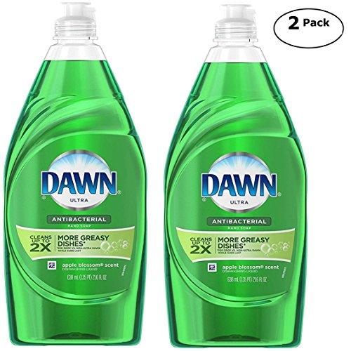 Dawn Dish - Dawn Dish Liquid Soap, Apple Blossom Scent, 21.6 Fl. oz 2 Pk