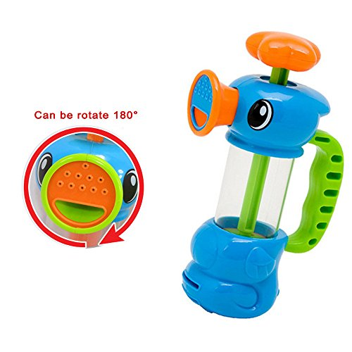 XIANAER Children Baby Shower Water Swimming Pool Water Toy Duck Design Water Pump Toy (Best Christmas Gift For A Duck Hunter)