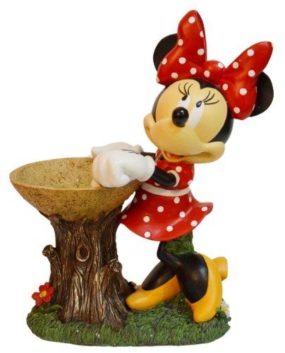 Woods International Disney Birdbath, 16-Inch, Minnie (Disney Birdbath)
