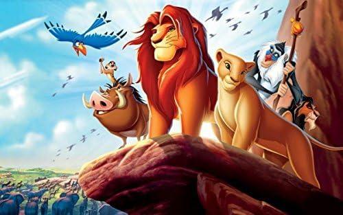Incredible Amazon Com Lion King Disney 1 4 Sheet Edible Photo Birthday Cake Funny Birthday Cards Online Necthendildamsfinfo