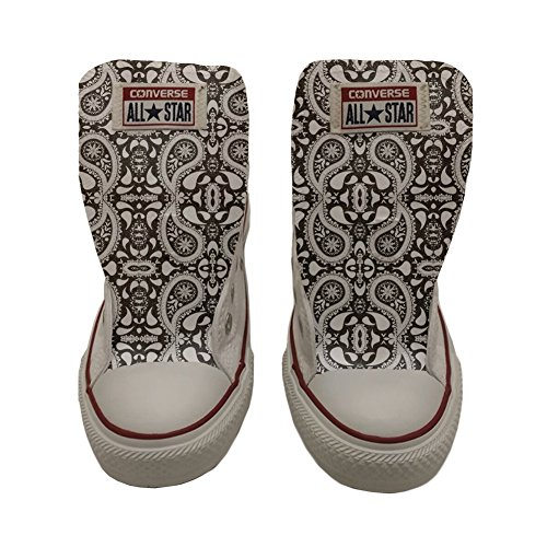 Converse Hi Your Produit All Artisanal Make Paisley Ethnic Star Shoes Coutume Chaussures BwqxXX7