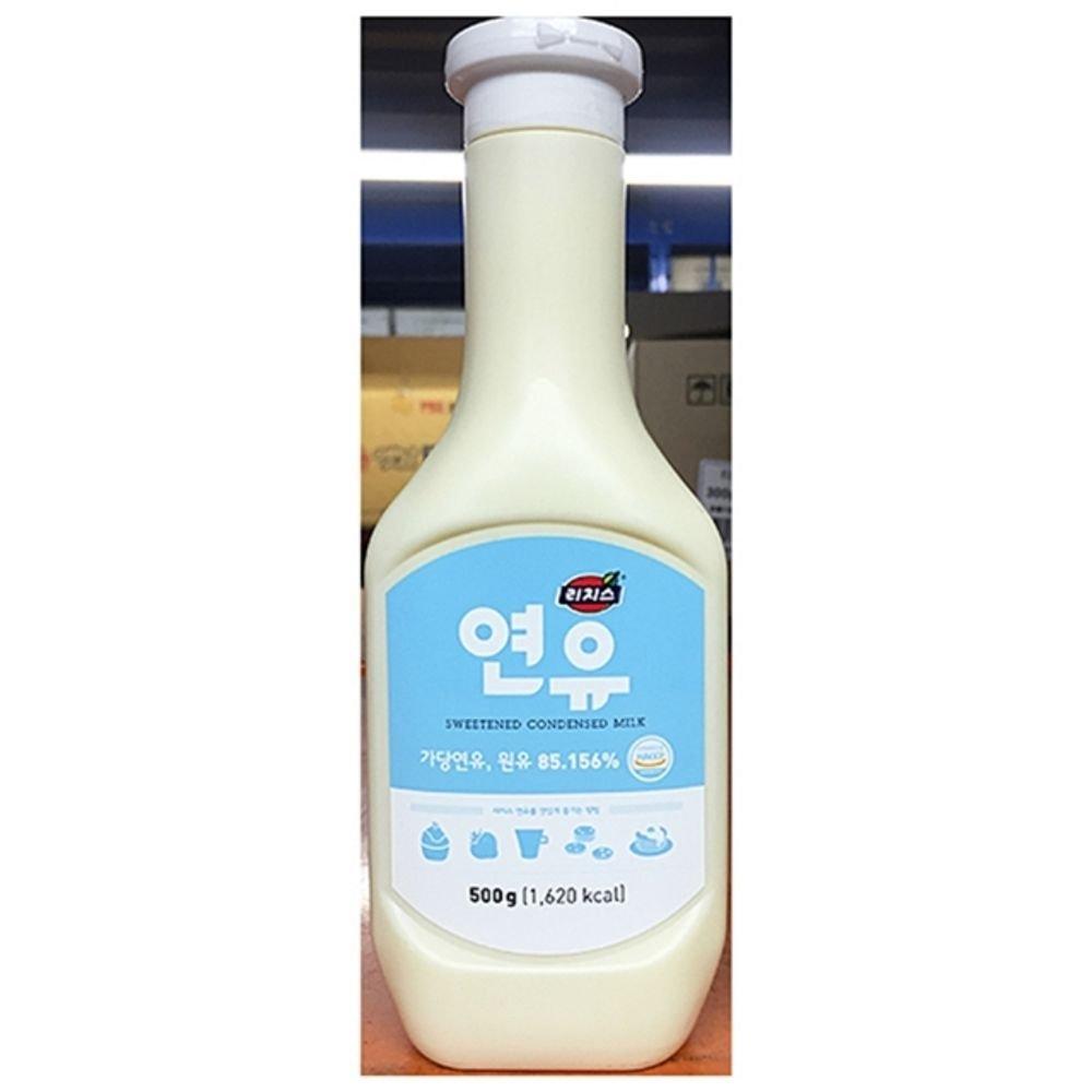 Dongsuh Condensed Milk for Red Bean Sherbet 500G x 1 팥빙수