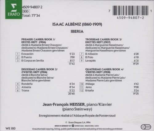 Amazon.com: Albeniz: Iberia: Music
