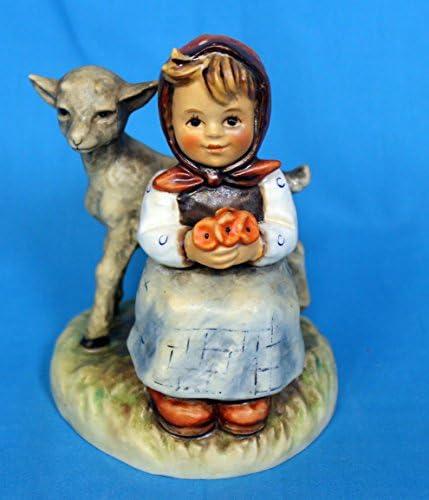 Hummel Figurine – Good Friends – Girl with Lamb Animal – Goebel Porcelain