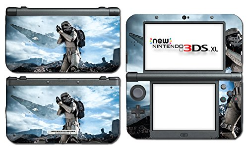 Star Wars Storm Trooper Empire Soldier Video Game Vinyl Decal Skin Sticker Cover for the New Nintendo 3DS XL LL 2015 System Console