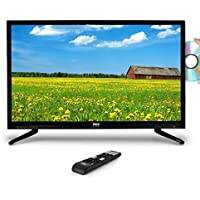 Pyle PTVDLED40.5 HD LED TV - 1080p HDTV Built-in CD/DVD Player, 40