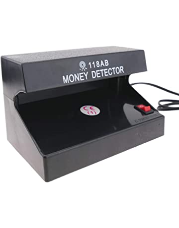 PrimeMatik - Detector de Billetes Falsos UV con 1 Tubo de 4W 170x110x110mm