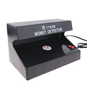 PrimeMatik - Detector de Billetes Falsos UV con 1 Tubo de 4W 170x110x110mm: Amazon.es: Electrónica
