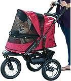 Pet Gear Jogger No-Zip Pet Stroller, Rugged Red