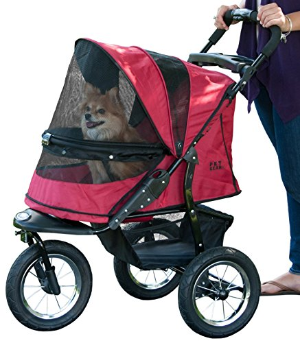 Pet Gear No-Zip Jogger Pet Stroller for Cats/Dogs