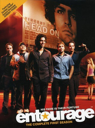 DVD : Entourage: The Complete First Season (Digipack Packaging, 2 Disc)