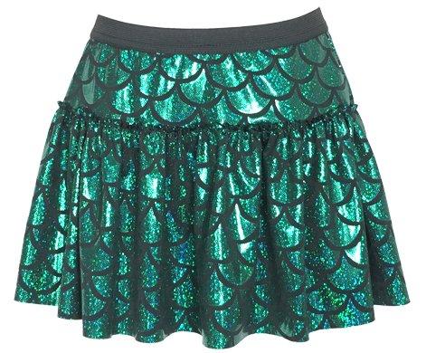Green Mermaid Sparkle Running Skirt | Running Costume | Glitter Running Skirt