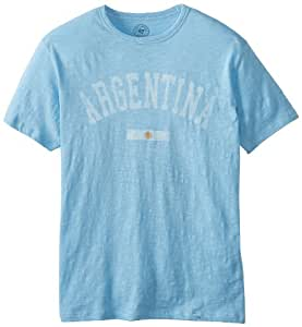 Argentina Vintage Scrum Country T-Shirt Columbia Blue, Small