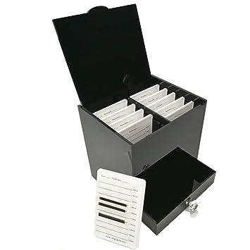Amazon Com Professional Black Acrylic Lash Plate Storage Organizer