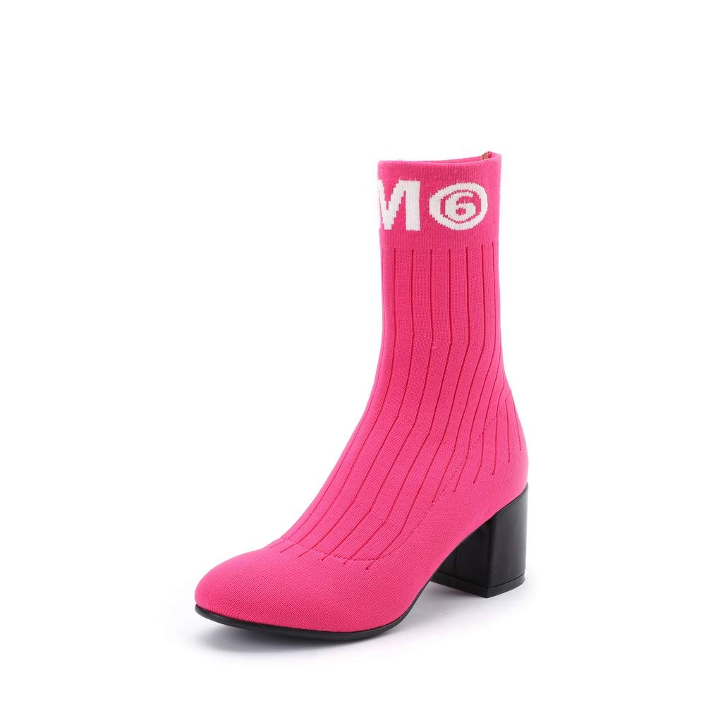 AdeeSu Womens Mule Logos Solid Urethane Boots SXE04826