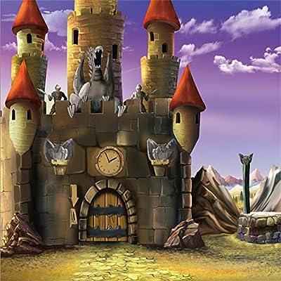 BuEnn 10x10 pies Castillo Dibujos Animados Caballero Foto ...