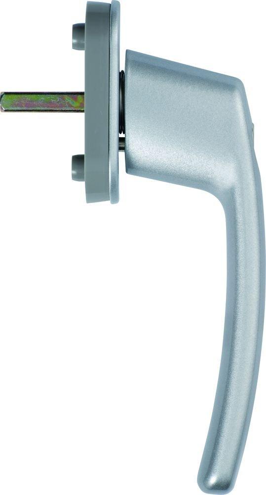 dd1013 abus fenstergriff abschlie bar fg200 silber 44258. Black Bedroom Furniture Sets. Home Design Ideas