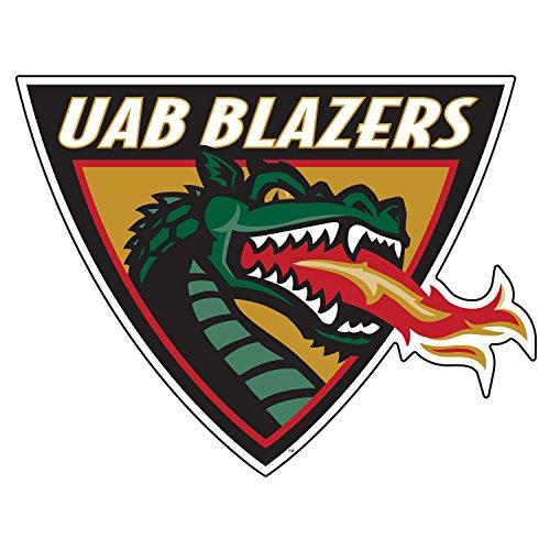 Alabama Birmingham Blazers Decal UAB DRAGON HEAD DECAL 12