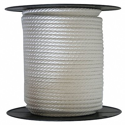 Rope, Nylon/Poly, Braid, 5/16In. dia, 300ftL