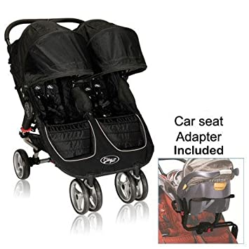Amazon Com Baby Jogger 12210 City Mini Double Stroller In Black