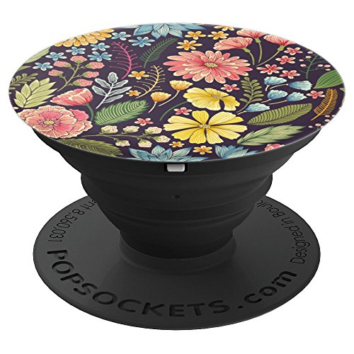 PopSockets: Botanical Floral Garden I - PopSockets Grip and Stand for Phones and Tablets