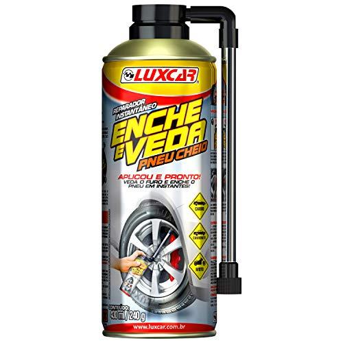 Reparador De Pneu Instantâneo Luxcar 430 Ml