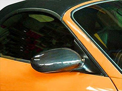 (JPCarbon Carbon Fiber Mirror Covers for Porsche 911 996 1999-2006)