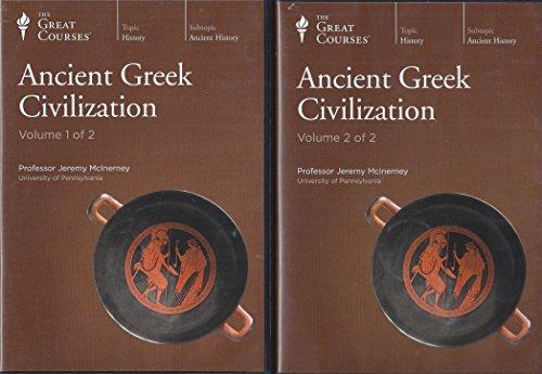 Ancient Greek Civilization CD Course The Teaching Company (The Great Courses) by The Teaching Company