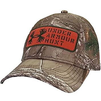 Under Armour 1246831 UA Camo Antler Patch Cap (Realtree AP Xtra ... ae9fd735812