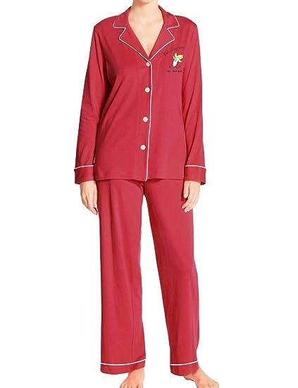 1cbe7bba64 FANCYINN Pjs for Teen Girls Cute Cartoon Print Pajama Sleepwear Set Banana S