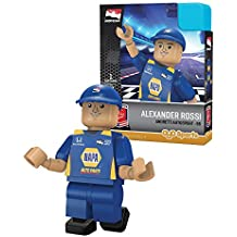 IndyCar Andretti Autosport OYO Alexander Rossi Racing Minifigure, Black, Small