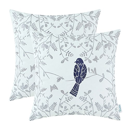 blue and gray throw pillows - 8