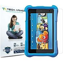 "Amazon Kindle Fire Kids RetinaShield Screen Protector, Tech ArmorPremium Blue Light Filter Amazon Kindle Fire 7"" Kids (2015) Film Screen Protector [1]"