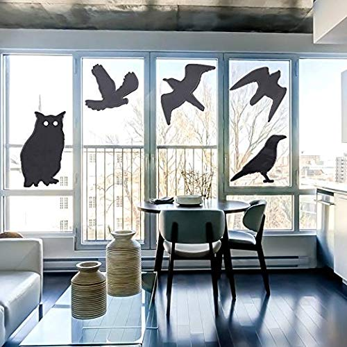 - Haierc Bird Stickers for Windows,Window Decals for Birds,Bird Window Deflectors,Window Alert,4 Pack with 10 Different Birds