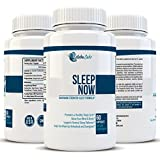Natural Sleep Aid with Valerian & Melatonin - Best For Relaxing, Lowering Anxiety, & Falling Asleep Naturally - Advanced, Non-Habit Forming, Nighttime Sleeping Pills - Herbal & Natural - 60 Capsules