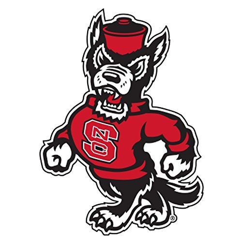 Nc State Wolfpack Bag - NC State Wolfpack, Large Premium Decal, CORNHOLE, Officially Licensed,Mascot